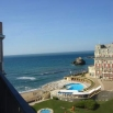 Biarritz - Les pieds dans l'eau